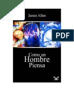 Allen James - Como Un Hombre Piensa.doc