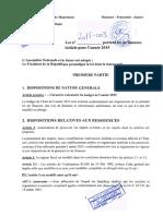 Mauritanie LF 2015