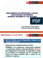 DS 024-2016-EM-seguridad Laboral en Mineria