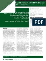 Seborrheic Dermatitis Malasseziaand