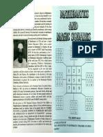 P. K. Srinivasan Mathematics & Magic Squares 1992