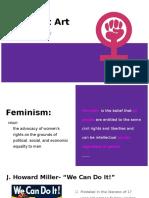 makenna casady art 1010 feminist art presentation