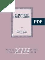 Salmon & Kitcher - Scientific Explanation
