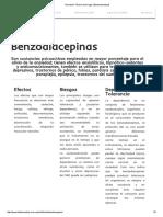 010 Secretaría Técnica de Drogas _ Benzodiacepinas
