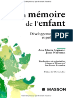 La Mémoire de l'Enfant - Elsevier Masson