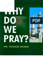 Why Do We Pray by Dr Suhaib Hasan