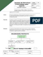 Estructura y Actividades Para Soporte a Talleres Castillo