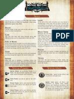 Mythic Battles - Rules aid