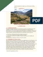 Analisis Geodinamico de La Ciudad Del Cusco