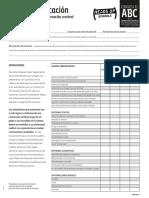 headsup abc concussion tbi schools checklist spanish