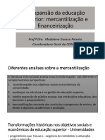 Financeirizacao Da Educacao PROFESSORA MADALENA Seminario Atualizada