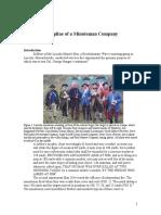 Live Fire Discipline of a Minuteman Company