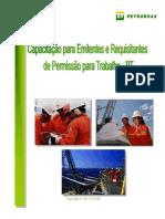 APOSTILA 2016-Treinamento Para Emitente e Requisitante de Permissão Para Trabalho - PT (2)