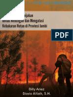 Rekomendasi Kebijakan untuk Mencegah dan Mengatasi Kebakaran Hutan di Jambi