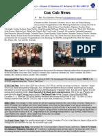 Cox News Volume 6 Issue 8