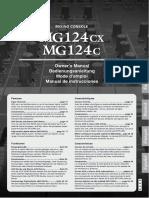 MG124cx MG124c Owner's Manual - File