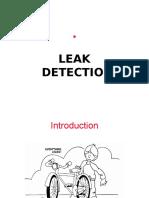 Helium Vacuum Leak