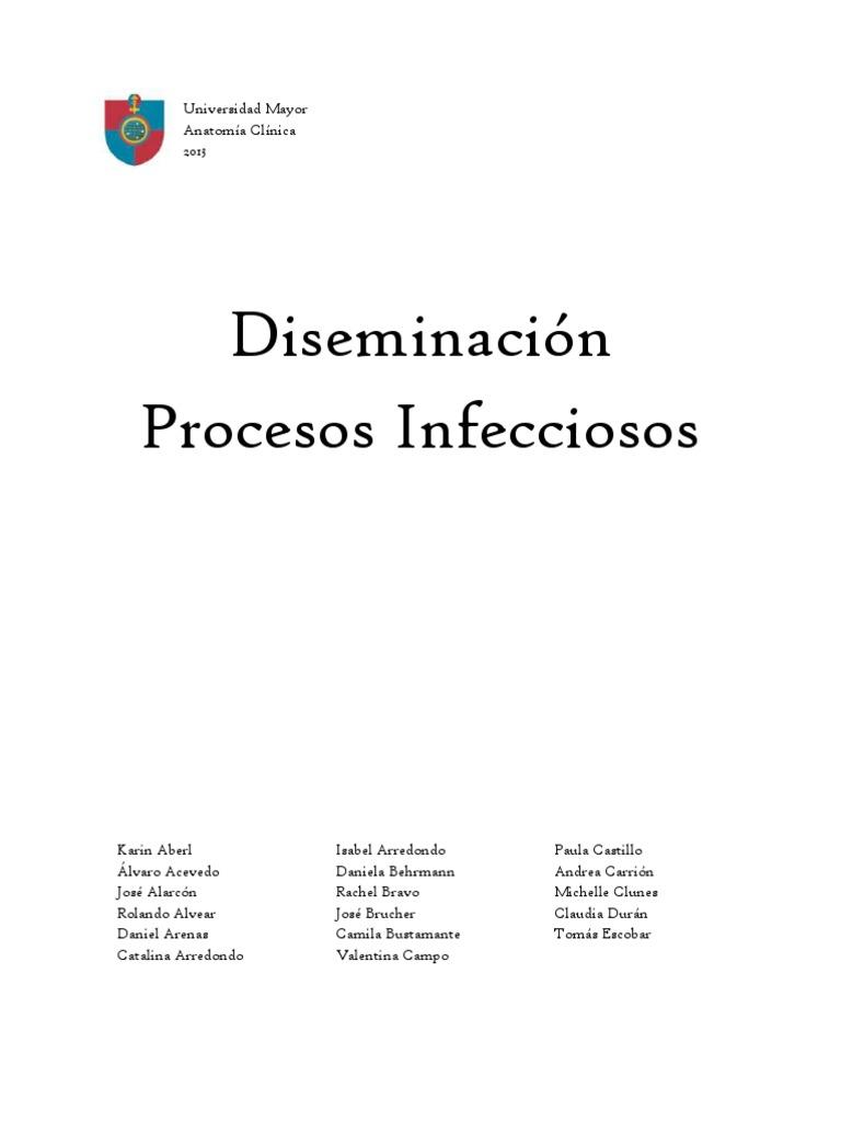 Difusión infecciones