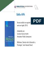 Normas APA Castellano