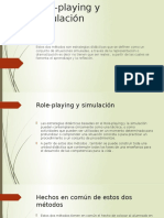 Role-playing y Simulación