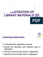 Digitization of Library Materials (Chap 6)
