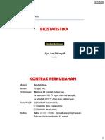 01. Biostatistika - Konsep Dasar Statistika Par & Non Par