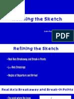 Ece172 Refining the Sketch Cordova