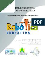 Manual de Robtica Educativa en El Aula Documento en Proceso de Revisin 1