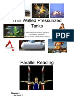 10 Thin Walled Pressurized Tanks