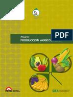 Anuario Producción Agricola 2014