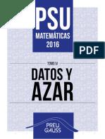 Psu Mate 2016 Datos y azar