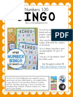 Bingo Numero
