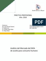 Aceite  mercado del NOA- Víctor Nicolás Pagano Conesa