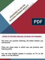 Inglés 6 Listening Skills 1
