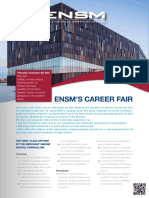 ENSM Career Fair
