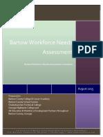 2015 bartow workforce needs assessment final report aug 25 2015