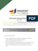 Gestion Proceso de Exportacion