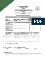 Examenes Parciales y Bimestrales 2016