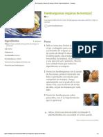 Hamburguesas Veganas de Lentejas! Receta de Patrimediolimon - Cookpad
