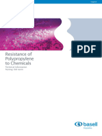 Chemical Resistance of PP Homo - CP