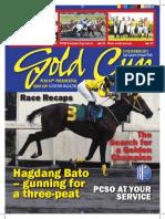 PCSO Presidential Gold Cup Souvenir Magazine 2015