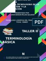 Terminología básica en costos y presupuestos