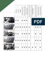 Tablas Comparatvas Columnas Direccion Vehiculos