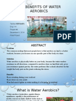 the benefits of water aerobics power point project 4    12 06 16 updated updated