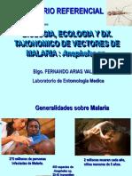 Biol.,Ecolog.,Id.tax.de Anopheles