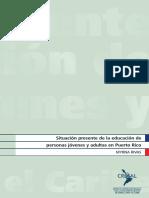 Informe CREFAL Jovenes Adictos Puerto Rico