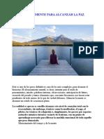 SILENCIAR LA MENTE PARA ALCANZAR LA PAZ.doc