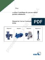 Manual Ksb Meganorm-bloc - Curvas 50 Hz_imprimir