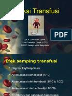 reaksi transfusi perawat
