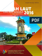 Kabupaten Tanah Laut Dalam Angka 2016